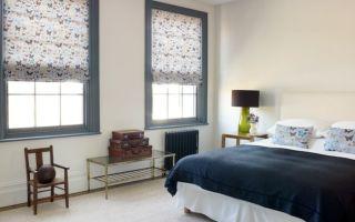Римские шторы для спальни: сочетание комфорта и красоты