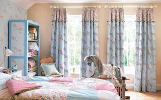 Шторы для детской комнаты для девочки: фото в интерьере и полезные советы
