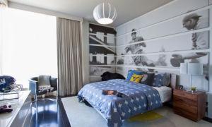 Шторы для мальчика подростка: варианты оформления комнаты с фото
