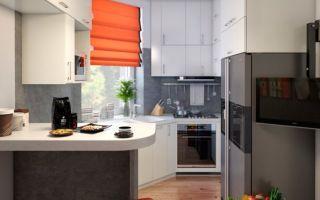 Шторы на маленькую кухню: советы по выбору с фото