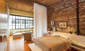 Зонирование комнаты шторами: разделение пространства с помощью штор