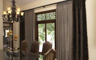 Плотные шторы и виды тканей для них