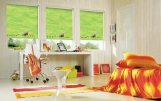 Рулонные шторы для детской комнаты: их преимущества и правила выбора