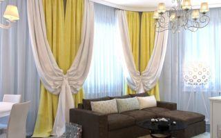 Двухцветные шторы: преображаем интерьер с помощью ярких контрастов и гармоничных сочетаний