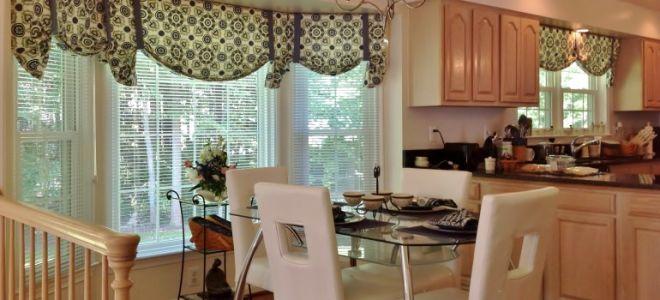 Шторы для кухни: популярные и практичные модели, советы от дизайнеров