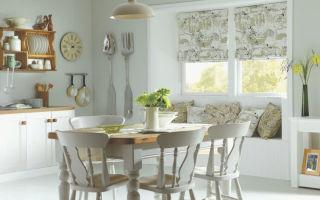 Римские шторы для кухни: советы по выбору с фото