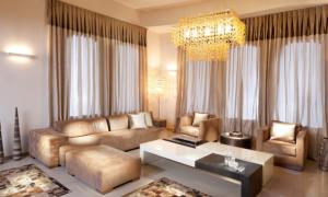 Современные шторы для гостиной и зала: модные тенденции и правила оформления
