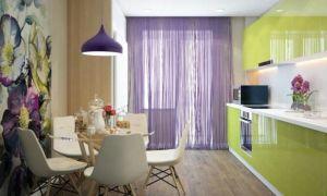 Выбираем сиреневые шторы: основные сочетания и лучшие композиции