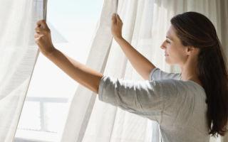 Как отбелить тюль от желтизны и серости в домашних условиях народными средствами