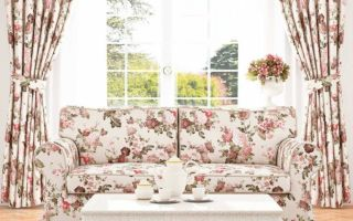 Основные виды текстиля для штор в стиле прованс: правила выбора и применения в интерьере