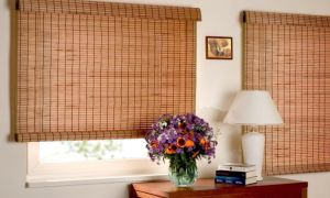 Рулонные шторы из бамбука: преимущества, особенности выбора и ухода