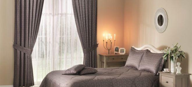 Шторы для спальни: современные новинки и функциональные возможности