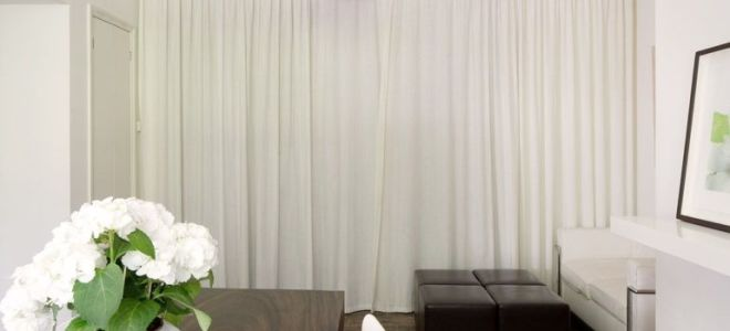 Белые шторы в вашем доме: создаем атмосферу легкости и невесомости
