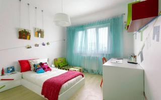 Тюль для детской комнаты мальчика и девочки