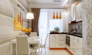 Особенности штор для кухни с балконом