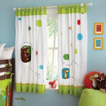 Короткие шторы в детскую5