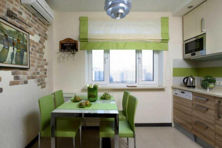 Римские шторы на кухню16