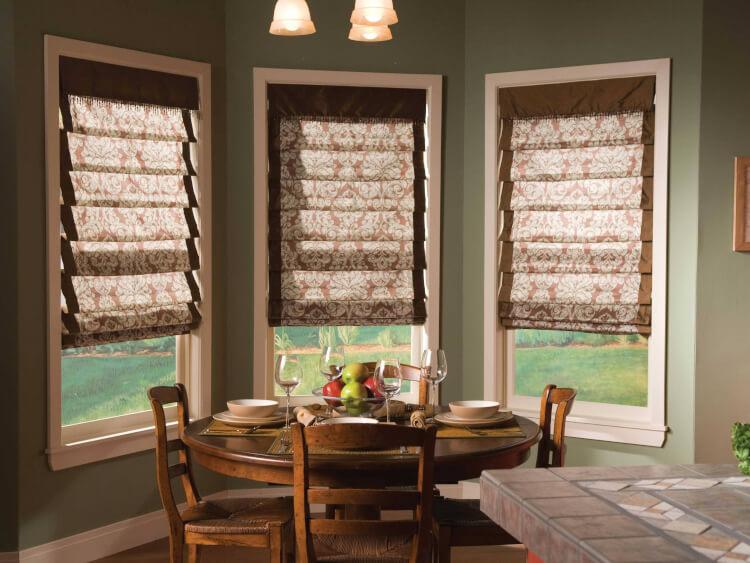 главная римские шторы на кухню