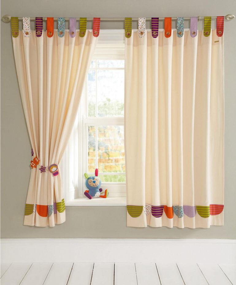 полиэстровые шторы в детскую