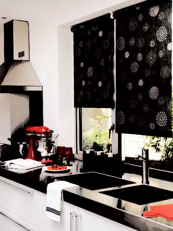 рулонные на кухню