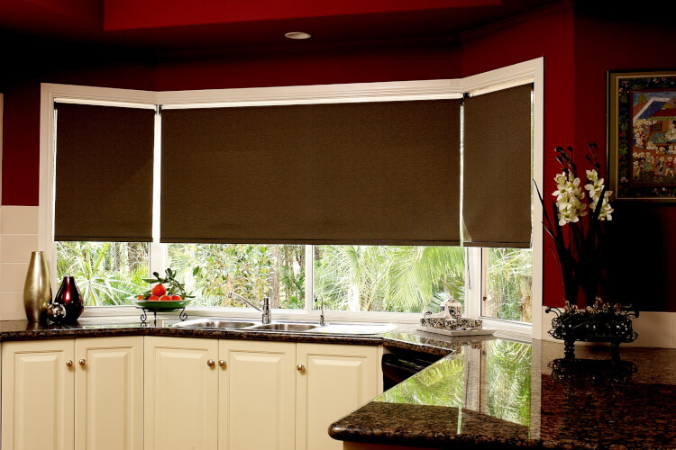 рулонные шторы на кухню главная