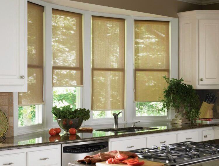 рулонные шторы на кухню4