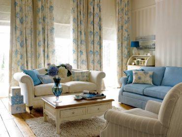 Яркие акценты в мебели и декоре