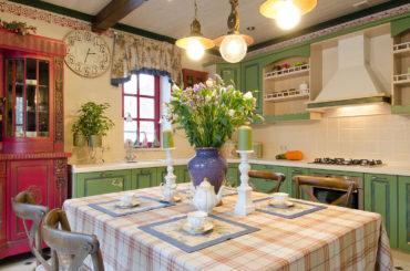 Кухня в Стиле прованс и кантри