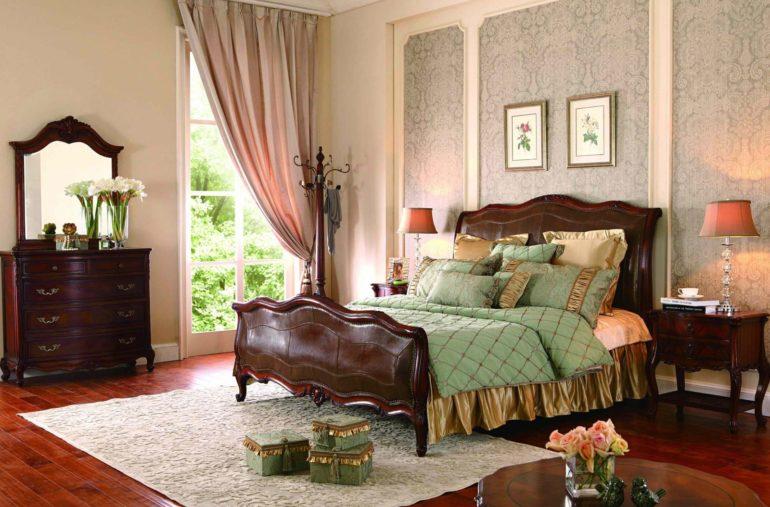 Отличительной чертой прованса является красивая мебель из дерева