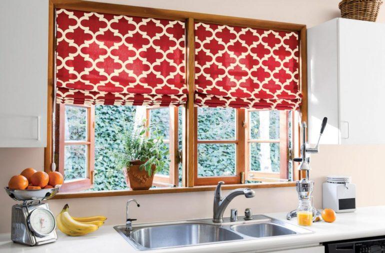 Подъемные модели это очень функционально когда окно находится над рабочей зоной кухни