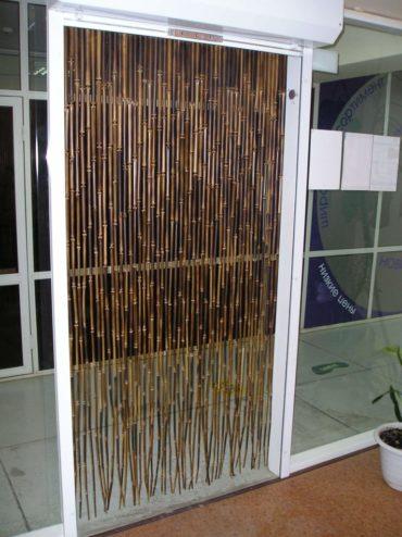 бамбуковые шторы в магазине