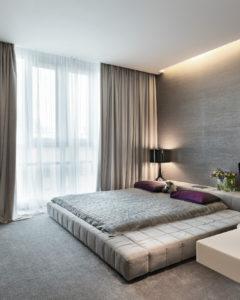 спальня с подсветом