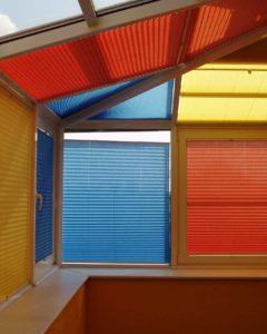 Мансардный этаж с потолочными окнами