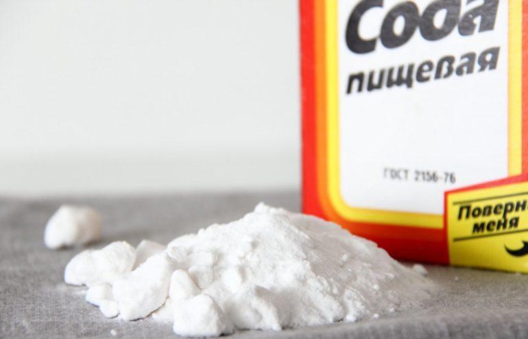 Сода - безупречный лидер по борьбе с неприятным запахом