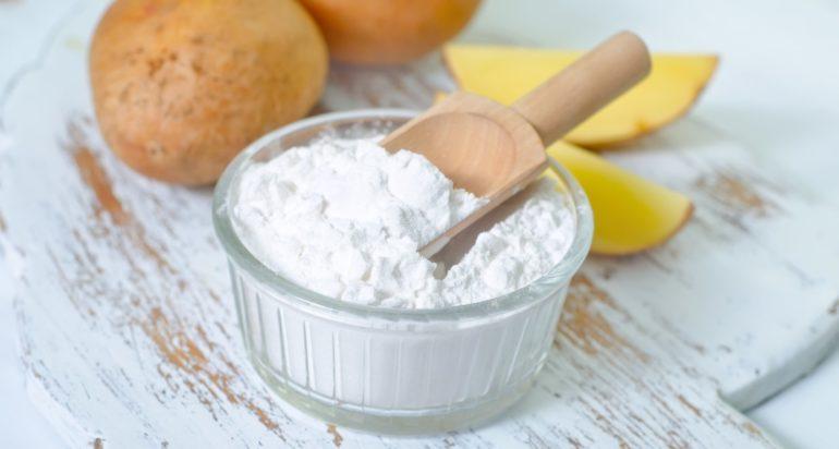 Обычный картофельный крахмал это не только отличная пищевая добавка, но и уникальное средство для придания шторам белоснежной чистоты