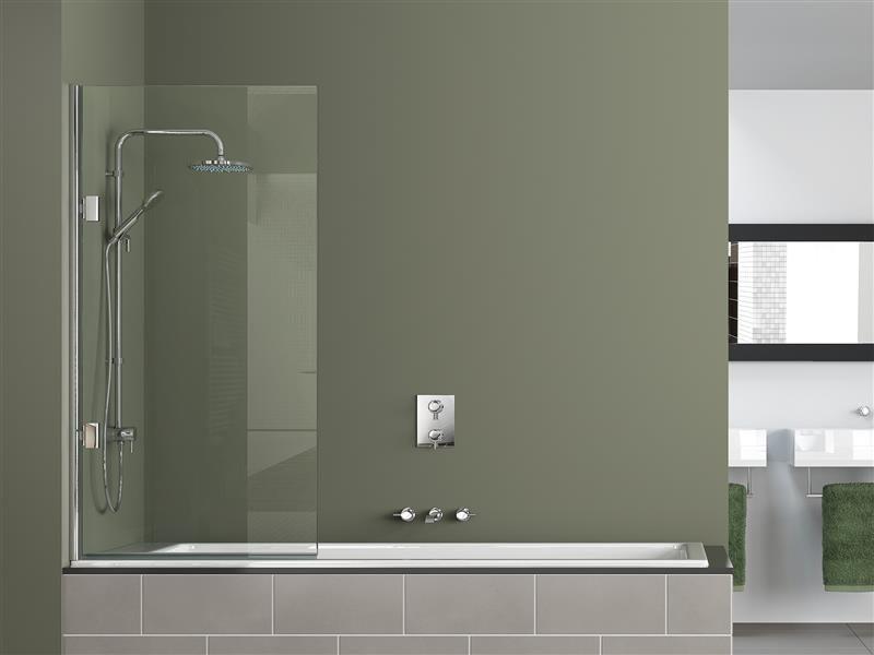 Настенные краны в ванной