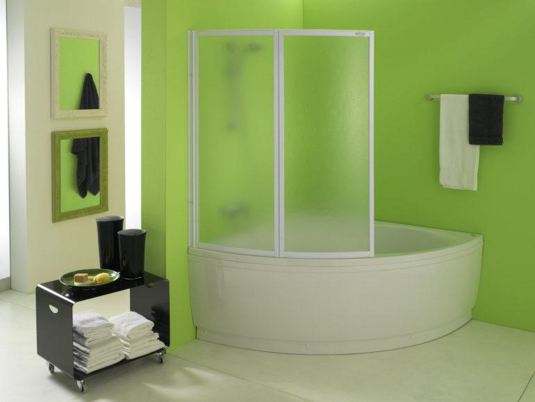 Пластиковые шторы для ванной